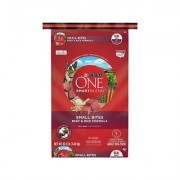 Purina ONE SmartBlend Small Bites Beef and Rice Dry Dog Food, 16.5-lb bag