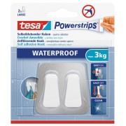 tesa SE PS Waterproof DuoHaken Metall/Plas. 59785