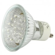 Ultra heldere LED lamp GU10 2W warm wit OP=OP