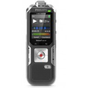 Reportofon digital PHILIPS DVT6010, 8GB, USB, LCD color, activare vocala (Negru)