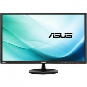 Asus monitor WLED VN247HA 23.6\ wide, Full HD, 5ms, 2xHDMI, S-Sub, speakers, fekete