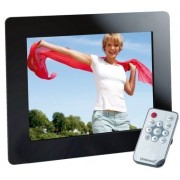 "Rama Foto Digitala Intenso 3919800 Weather Star, 8"", cu statie meteo, 800 x 600 (Neagra)"
