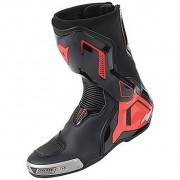 Dainese Stivali Torque D1 out nero-rosso fluo