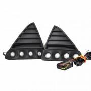 Kit proiectoare LED auto NSSC Ford Focus, 8 led-uri SMD