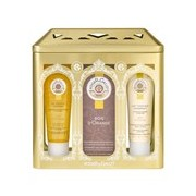 Coffret bois d'orange água perf. 100ml + gel douche 50ml + creme corpo 50ml - Roger Gallet