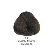 Vopsea Permanenta Evolution of the Color Alfaparf Milano - Blond Mediu Cenusiu Nr 7.1