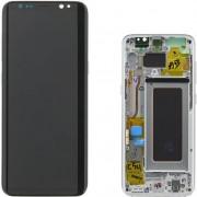 Samsung - GH97-20457C - Vetro LCD completo per Samsung G950 - Grigio (Originale)