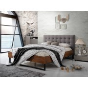 SomProduct Lit adulte Elise Grey