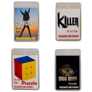 Fragrance And Fashion Confidence Killer Puzzle Bigg boss Edt of 15 ml Each