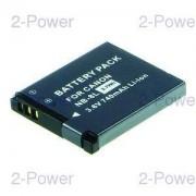 2-Power Digitalkamera Batteri Canon 3.6v 740mAh (NB-8L)