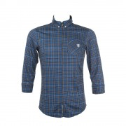 【セール実施中】【送料無料】L-Breath 限定 クロップドシャツ 七分袖サイクルジャージ ユニセックス 長袖ジャージ 自転車ウエア kpls212 ブルーチェック