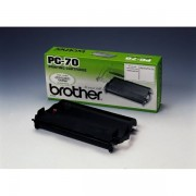Brother PC-70 Farbband schwarz original - passend für Brother Fax T 86