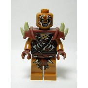 Lego Minifigure Gundabad Orc Bald With Shoulder Spikes (79014)