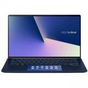 Лаптоп, Asus ZenBook 14 UX434FQC-WB711R, ScreenPad,Intel Core i7-10510U, 14 инча FHD (1920x1080), 16GB LPDDR3, 512G M.2 SSD, NVIDIA GeForce MX350,TPM, Win 10 PRO 64 bit, 90NB0RM3-M00430