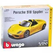 Комплект за сглобяване - Porsche 918 Spyder, Bburago KIT, 093529