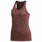 adidas - Women's Tech Prime Tank - T-shirt technique taille L, rouge/brun