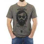 Scorpion Bay T-Shirt Uomo Reversibile Grigia, Taglia: XL, Per adulto Uomo, Grigio, MTE3550-11, IN SALDO!