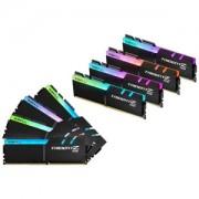 Memorie G.Skill Trident Z RGB 128GB (8x16GB) DDR4 3600MHz 1.35V CL17 Quad Channel Kit, F4-3600C17Q2-128GTZR