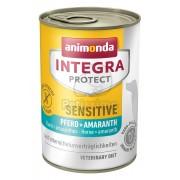 Animonda Integra Protect Sensitive konzerv, ló és amaránt 400 g