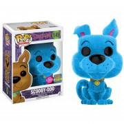 Funko Pop Scooby Doo Flocked Sdcc 2017 Blue Peludo Saturday
