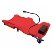 Pat mobil de plastic cu lampa de lucru Big Red