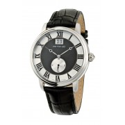 Small Second Watch BlackSilver Jos von Arx