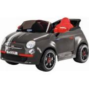 Masinuta Electrica pentru Copii Peg Perego Fiat 500 S cu Telecomanda 6V Gri
