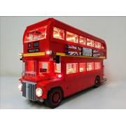 Brick Loot London Bus Lighting Kit for Lego 10258 Set by Brick Loot