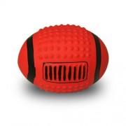 Rugbyboll Latex Röd 12 cm.
