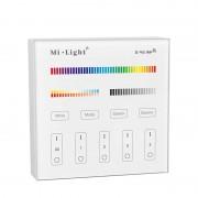 Meco Mi Light T4 4-Zone RGB+CCT Smart Panel RF Controller For LED Strip Light Lamp Bulb AC110/220V