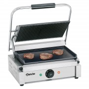 Bartscher Contact grill Pannini, grooved - plain