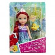 Papusa Printesa Disney Ariel, 15 cm, 3 ani+