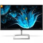 Монитор, Philips 246E9QJAB, 23.8 Wide IPS, LED, 5ms, 1000:1, D-Sub, HDMI, DP, Headphone Out, Speakers, Черен, 246E9QJAB/00