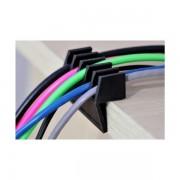 NaviaTec Cord Divider w self adhesive tape, Black NVT-HOLDER-324