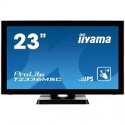 "Monitor touchscreen iiyama ProLite T2336MSC, 23"", PCAP, negru"