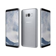"Samsung Smartphone Samsung Galaxy S8 Sm G950f 64 Gb 4g Lte Wifi 12 Mp Dual Pixel Octa Core 5.8"" Quad Hd+ Super Amoled Refurbished Artic Silver"