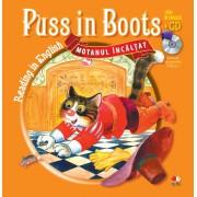 Puss in Boots (Motanul incaltat) - Carte + CD