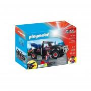Camion Grua Playmobil Con Gancho Y Accesorios - 5664