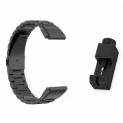 Stainless Steel Wrist Watch Band for Garmin Fenix5/5X/5S/Forerunner 945/Approach S60 - Black
