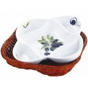 Platou ceramic Vabene, 20 cm, termorezistent