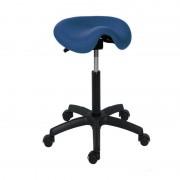 Taburete Kinefis Economy tipo Pony ou Cadeira de Montar, Estofado em Skay, Altura Standard (Cores disponíveis)