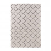 Mint Rugs tapijt Luna - grijs/crème - 160x230 cm - Leen Bakker