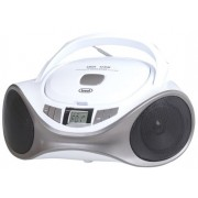 Micro Sistem Audio TREVI CMP 531, CD/MP3 Player, Radio FM (Alb/Argintiu)