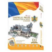 Puzzle 3D Castelul Peles - Romania, 179 de piese