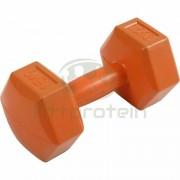 Kézisúlyzó cementes Aktivsport 1,5 kg narancssárga
