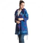 Roxy Jacheta de dama Santa J Jet Outlands Palace Blue ERJJK03144-BMB6 L