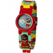Lego Reloj de pulsera con Minifigura de Robin - Batman: La Lego Película