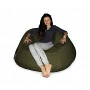 CrazyShop sedací vak COOL, vojenská zelená