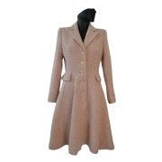 Dámský romantický kabát
