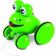 Vilac Push and Pull Baby Toy Youpla The Frog